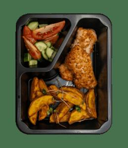 posiłek dieta pudełkowa dla dzieci fit kid