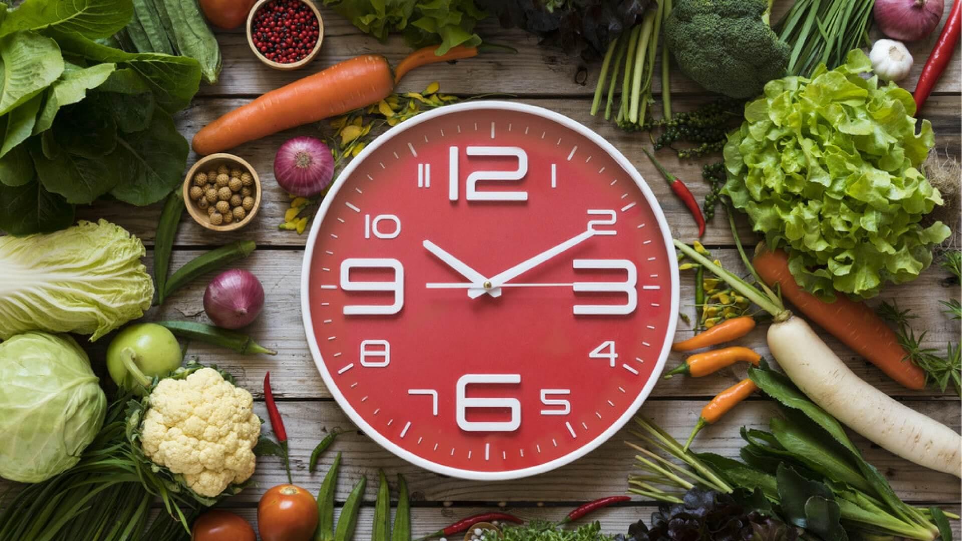 Meal timing - planowanie posiłków